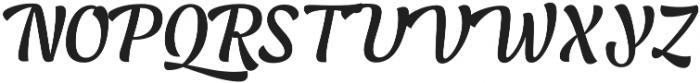 Lager Medium otf (500) Font UPPERCASE