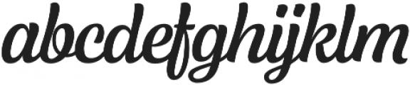 Lager Medium otf (500) Font LOWERCASE