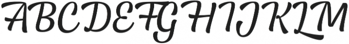Lager otf (400) Font UPPERCASE