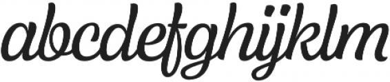 Lager otf (400) Font LOWERCASE