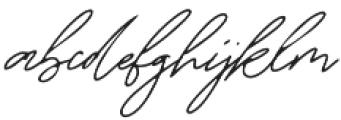 Lagerto otf (400) Font LOWERCASE