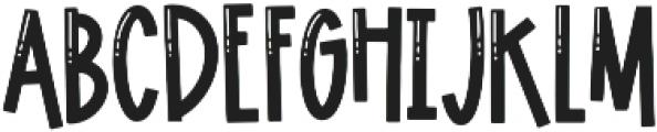 Lagoon Regular otf (400) Font UPPERCASE
