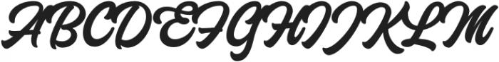 Laguna Hills otf (400) Font UPPERCASE