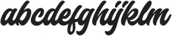Laguna Hills otf (400) Font LOWERCASE