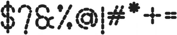 Lamborgini Extra Bold Dash otf (700) Font OTHER CHARS
