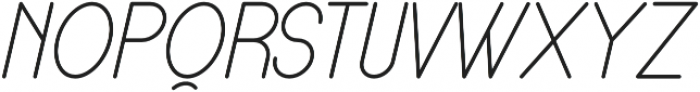 Lamborgini Light Italic otf (300) Font UPPERCASE