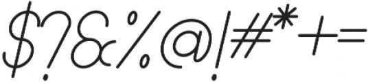 Lamborgini Light Italic ttf (300) Font OTHER CHARS