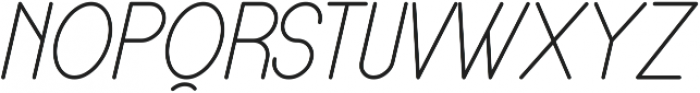 Lamborgini Light Italic ttf (300) Font UPPERCASE