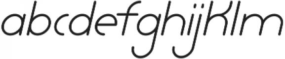 Lamborgini Light Italic ttf (300) Font LOWERCASE