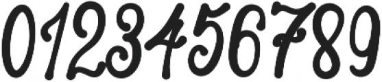 Lambresia Regular otf (400) Font OTHER CHARS