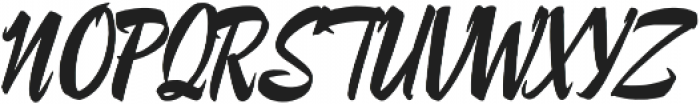 Lampoon Brush 100 otf (100) Font UPPERCASE
