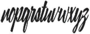 Lampoon Brush 100 otf (100) Font LOWERCASE