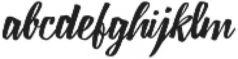 Lampoon Brush 60 otf (400) Font LOWERCASE