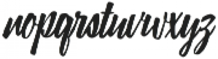 Lampoon Brush 70 otf (400) Font LOWERCASE