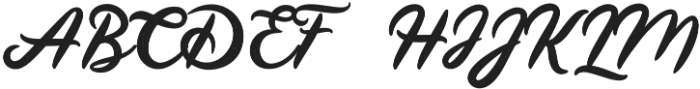 Land of Laugh Rough otf (400) Font UPPERCASE