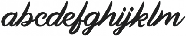 Land of Laugh Rough otf (400) Font LOWERCASE