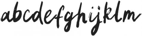 Landmark otf (400) Font LOWERCASE