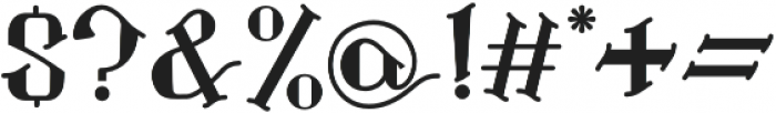 Landon otf (400) Font OTHER CHARS