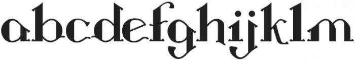 Landon otf (400) Font LOWERCASE