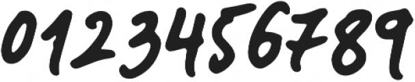 Landslide Bold Italic otf (700) Font OTHER CHARS