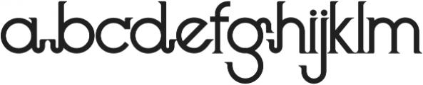 Langley otf (400) Font LOWERCASE