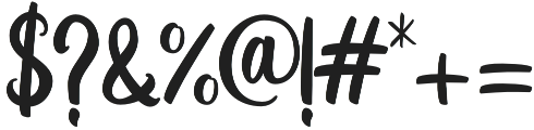 Lanjutin otf (400) Font OTHER CHARS