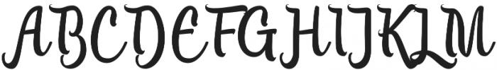 Lanjutin otf (400) Font UPPERCASE