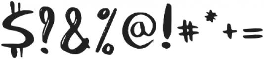 Laperla otf (400) Font OTHER CHARS