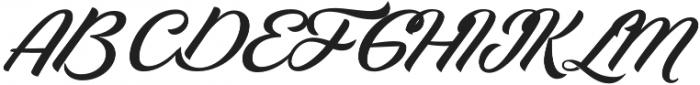 Lapin Brush otf (400) Font UPPERCASE
