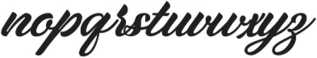 Lapin Brush otf (400) Font LOWERCASE