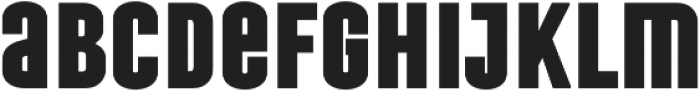 Laqonic 4F Unicase Black otf (900) Font LOWERCASE