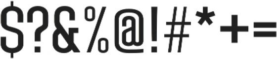 Laqonic 4F Unicase Light otf (300) Font OTHER CHARS