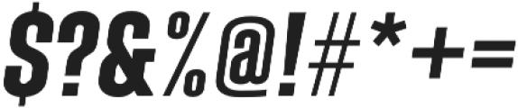 Laqonic 4F Unicase SemiBold Italic otf (600) Font OTHER CHARS