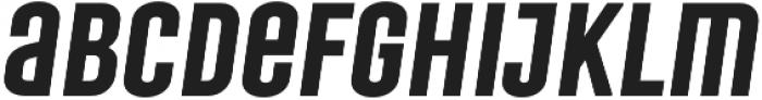 Laqonic 4F Unicase SemiBold Italic otf (600) Font LOWERCASE