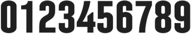 Laqonic 4F Unicase SemiBold otf (600) Font OTHER CHARS