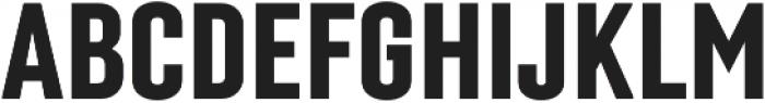 Laqonic 4F Unicase SemiBold otf (600) Font UPPERCASE