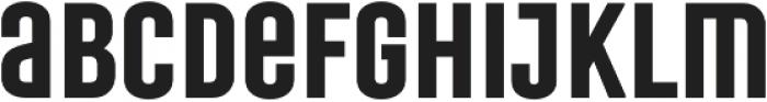 Laqonic 4F Unicase SemiBold otf (600) Font LOWERCASE
