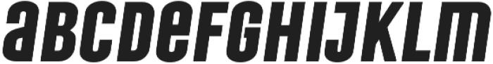 Laqonic 4F Unicase otf (700) Font LOWERCASE
