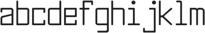 Larabiefont Condensed otf (400) Font LOWERCASE