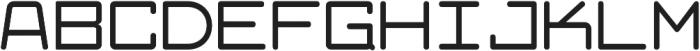 Larabiefont Extended Bold otf (700) Font UPPERCASE