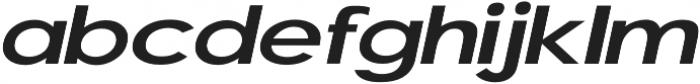 Laria Italic otf (400) Font LOWERCASE
