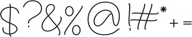 Larianti Bold otf (700) Font OTHER CHARS