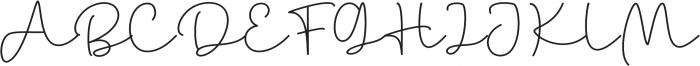 Larianti Bold otf (700) Font UPPERCASE
