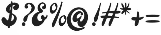 Larista Mono otf (400) Font OTHER CHARS