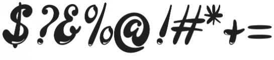Larista otf (400) Font OTHER CHARS