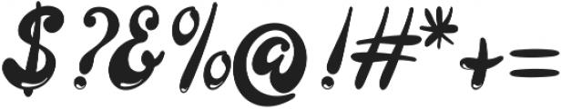 Larista ttf (400) Font OTHER CHARS