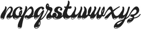 Larista ttf (400) Font LOWERCASE