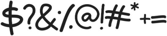 Laron otf (400) Font OTHER CHARS