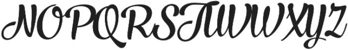 Larry Italic otf (400) Font UPPERCASE