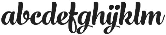 Larry Italic otf (400) Font LOWERCASE